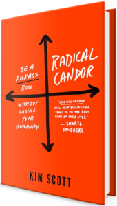 image of the radical candor book