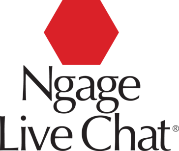 Ngage live chat logo Clio Grow