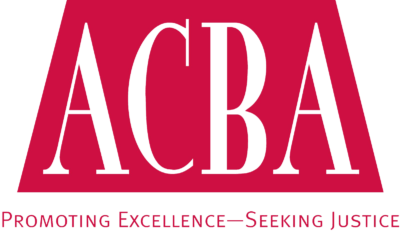Alameda County Bar Association Logo