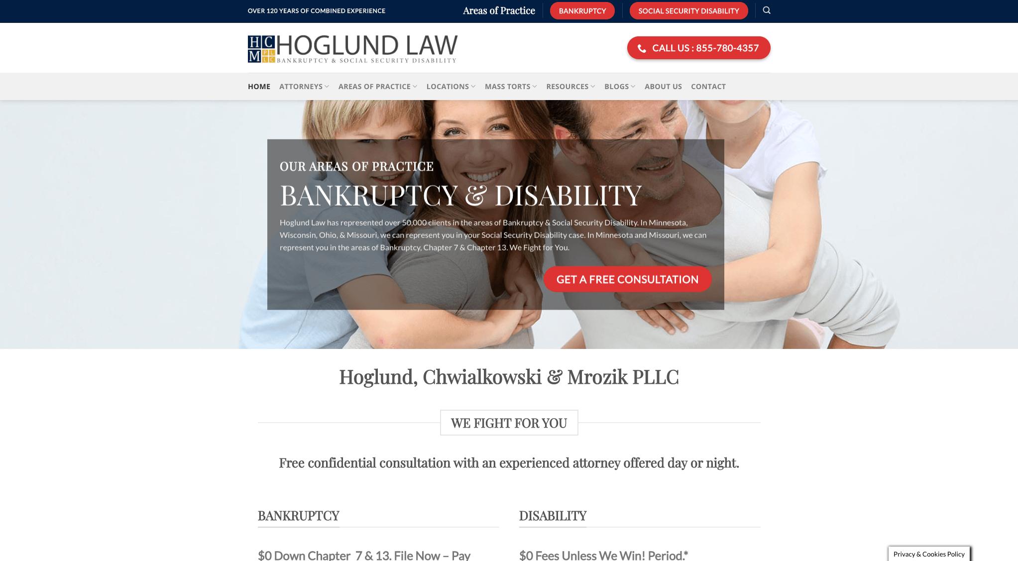 Hoglund website