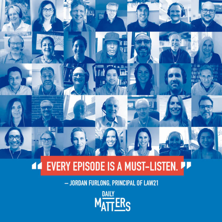 Daily Matters episode grid