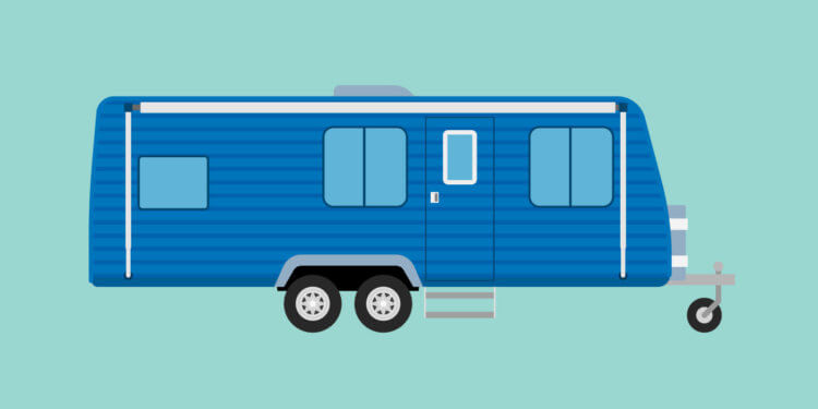 Illustration of an RV