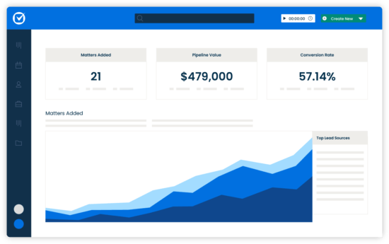Clio Grow Simplified UI Client Intake Insights Reports