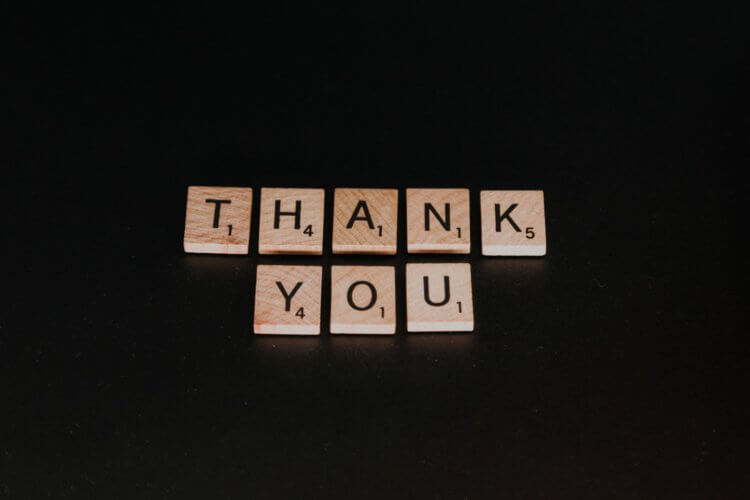 thank your customers