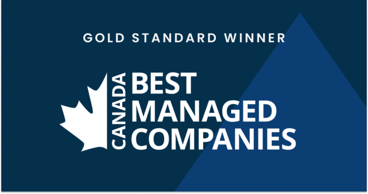 Clio is deemed the Gold Standard in Canada's Best Managed Companies