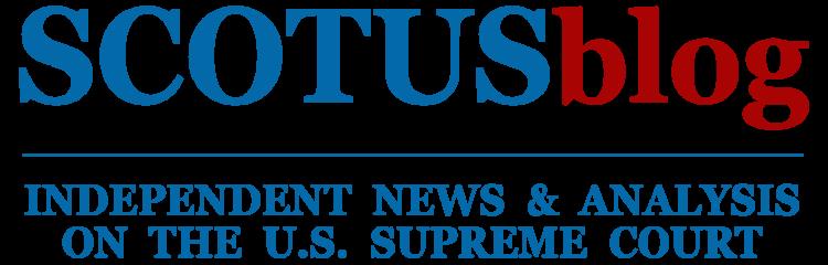 scotus blog logo
